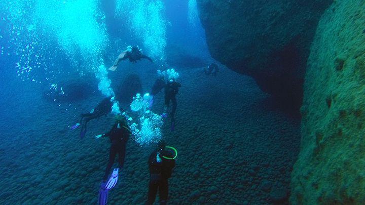 master scuba diver - Deep diver Santorini