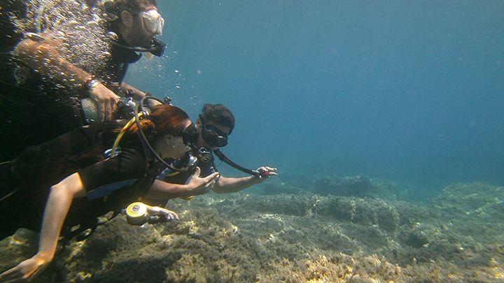 Diving classes Santorini - master scuba diver