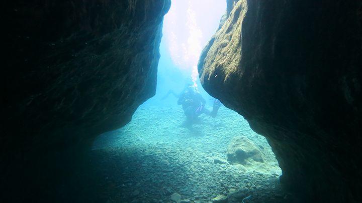 Santorini padi open water diver scuba certification