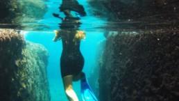 Navys waterworld volcanic reef snorkeling