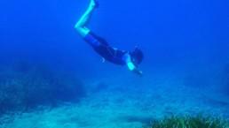 snorkel diving in santorini Navys