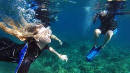 Santorini snorkeling experience